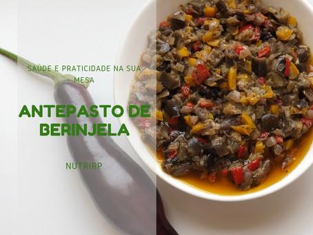 Antepasto de Berinjela: fácil e delicioso