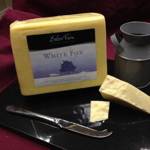 Vintage White Fox
