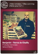 Benjamin de la Ferme de Chailly