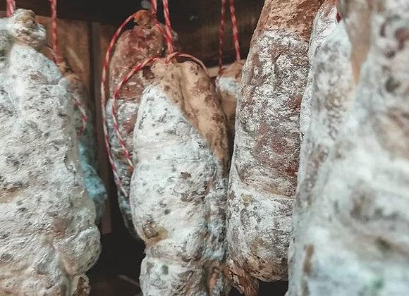 Saucisson artisanal (prix au kg)