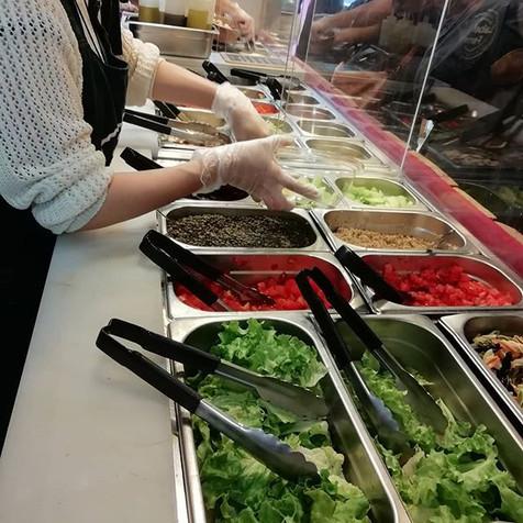 Composez votre salade sur-mesure