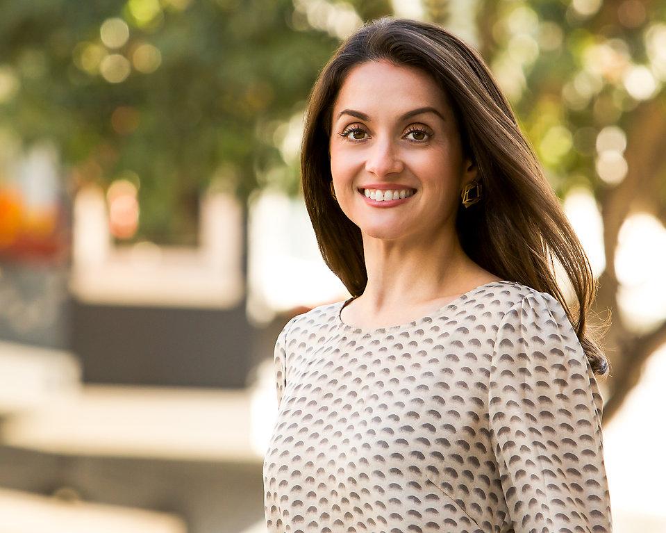 Dr. Jacinta Jimenez outdoors
