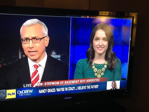 Dr. Jacinta Jimenez on CNN with Dr. Drew