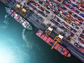 Peso das Exportações no PIB Catarinense