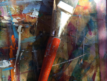 How to Paint an Abstract Painting in 5 Easy* Steps