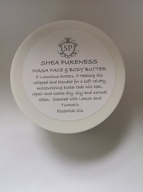 Masa 5 butters & 5 oils Face & Skin Body Butter
