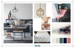 CONCEPT BOARD Deanna Bed
