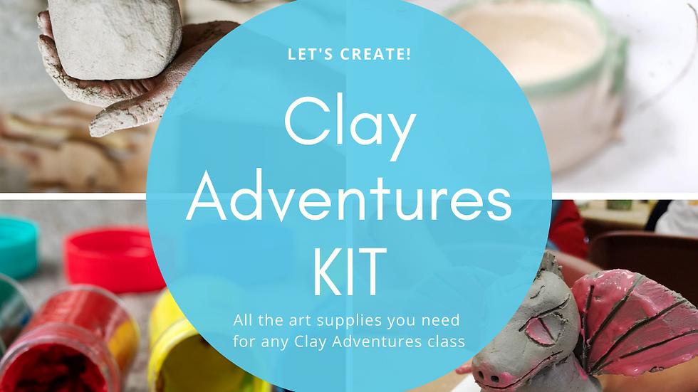Clay Adventures KIT