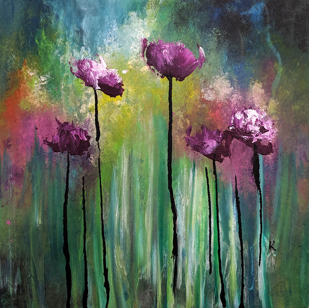Purple Poppies 2