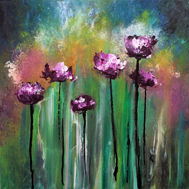 Purple Poppies 3