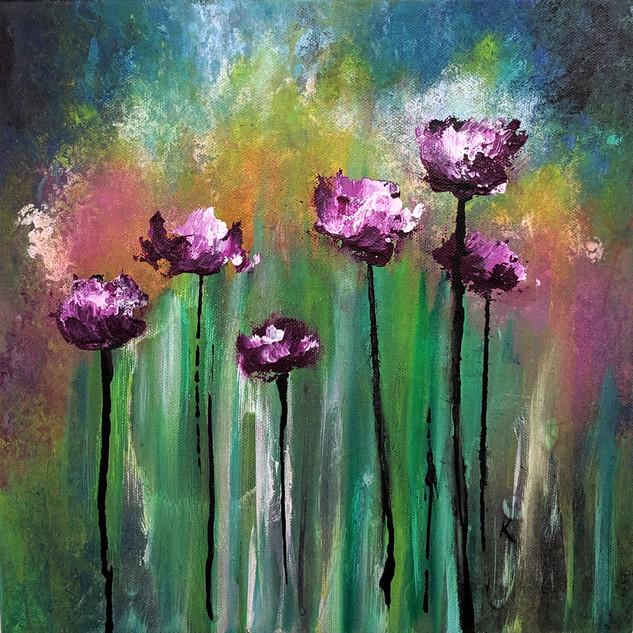 Purple Poppies 3