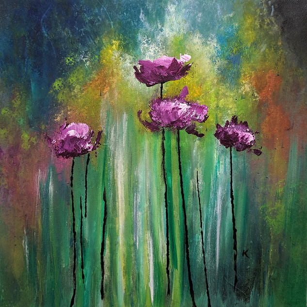 Purple Poppies 1