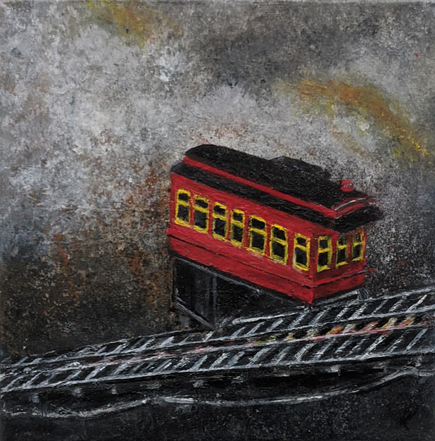 Duquesne Incline in the Rough