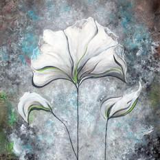 White Flower Patterns