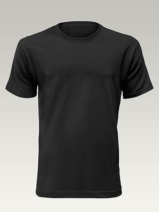 Jemné pletené 100% bavlněné unisex tričko - Bez potisku