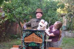 Répetition au Jardin