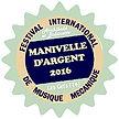 Manivelle d'Argent du meilleur spectacle au festival international de musique mécanique les gets 2016 Archibal et Bobinette Orgue de barbarie 74260