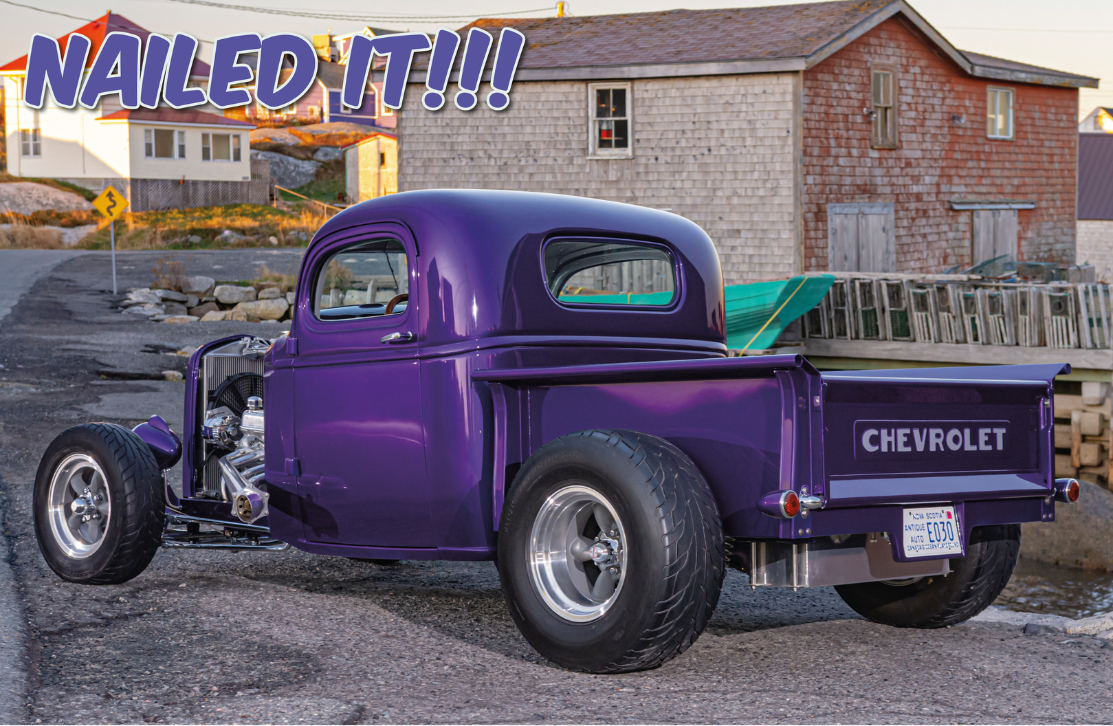 Greg Vallis' '40 Chev'