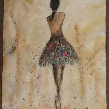 Glimpse of a Dancers Soul (In a Private Collection)