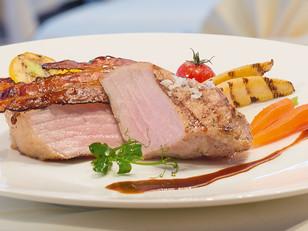 Fleisch vom Bierschwein