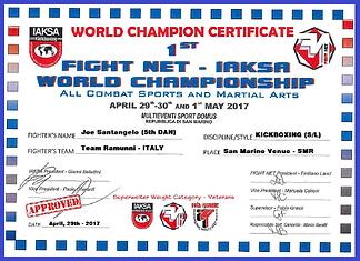 2017 RSM World Champion CErtification -