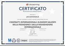 XX1 International Contractual Law (Certi