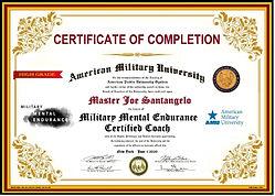 2020 AMU Mental Military Endurance Progr