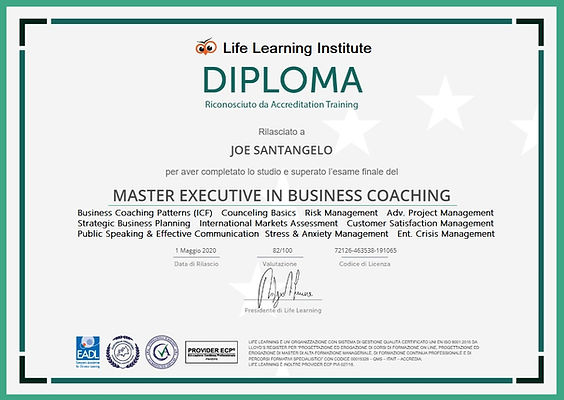 9 2020 Executive Business Coaching MASTE