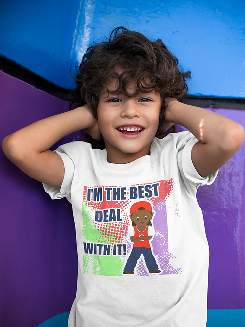 "I'm The Best Deal With IT!"" Youth Short Sleeve T-Shirt"