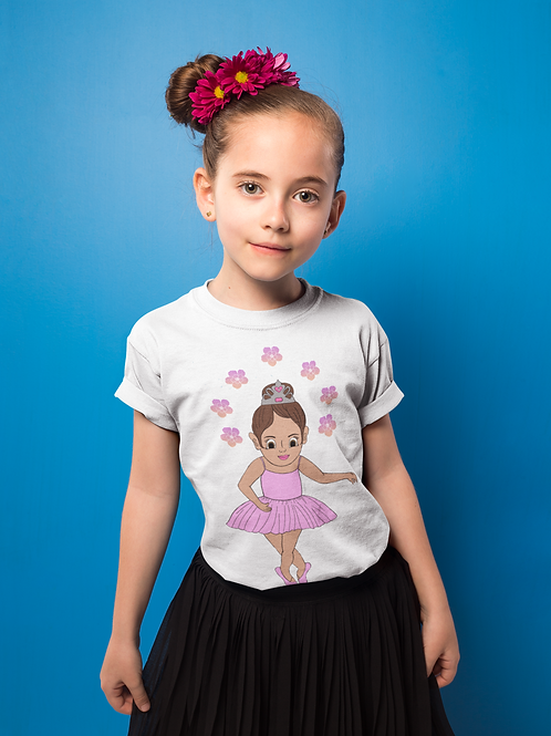 Ballerina Premium Girl's T-Shirt