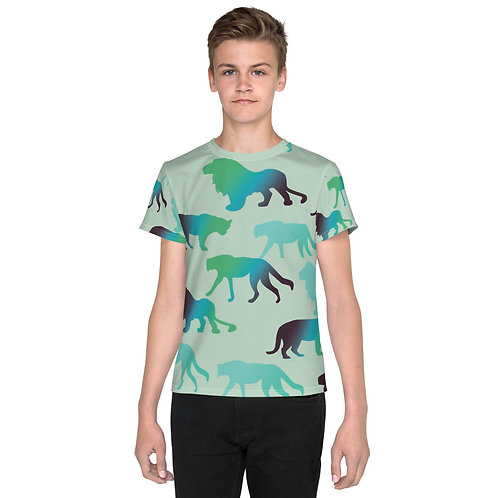Youth Wild Animal Print T-shirt