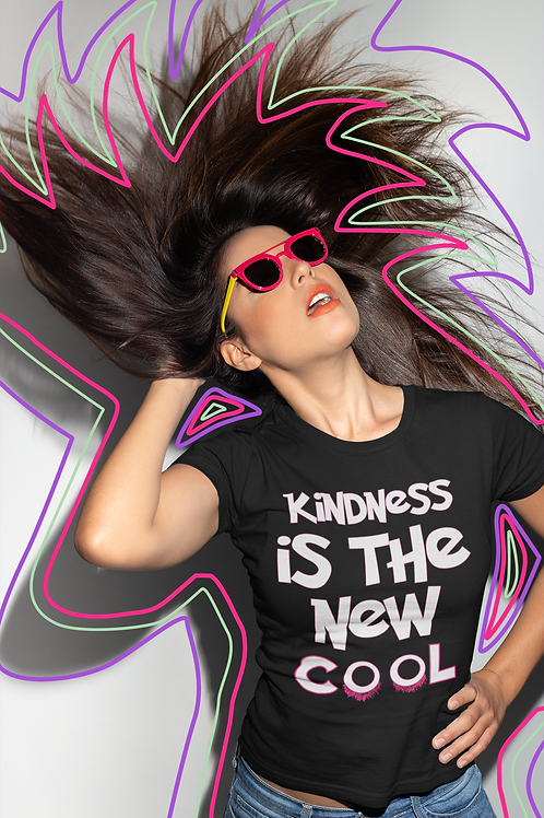 Kindness is The New Cool! Premium Women's short sleeve t-shirt