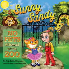 Sunny Sandy No Pets Allowed at the Zoo