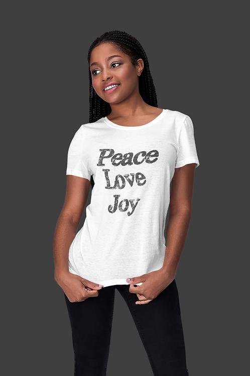 Peace, Love, Joy T-Shirt