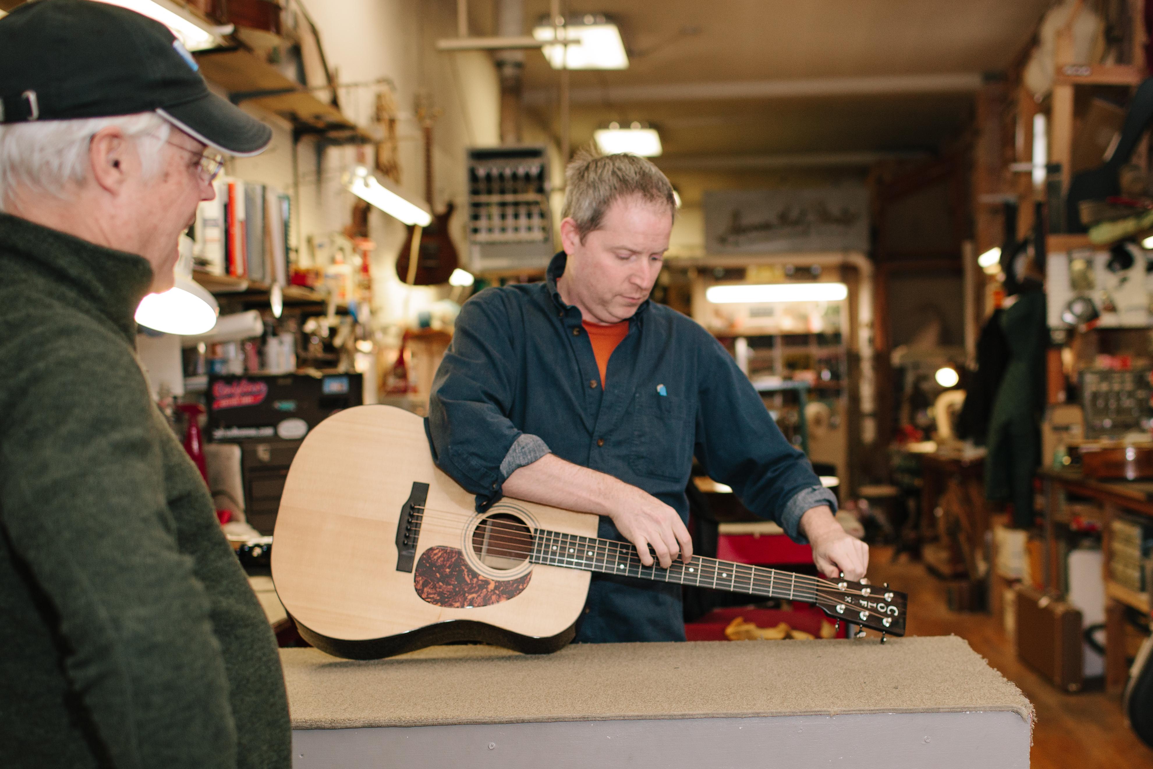 Colfax Guitar Shop Dave Dougherty