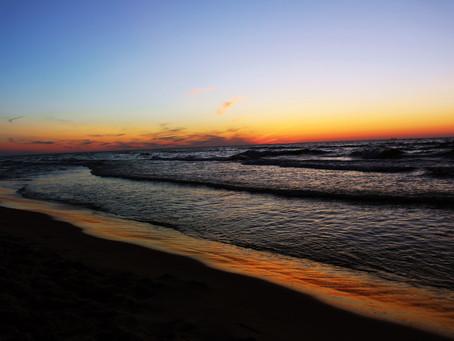 Polskie, piękne i... zimne morze Bałtyckie