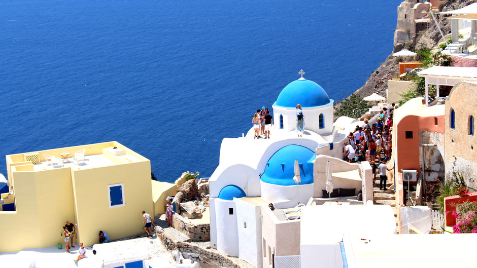 Santorini – wyspa o wielu odcieniach