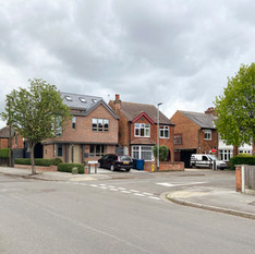 New-build suburban infill completes