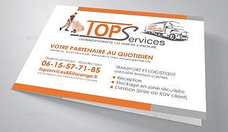 Création du logo et déclinaison plaquette et carte de vistePlaquette format A4 dépliante