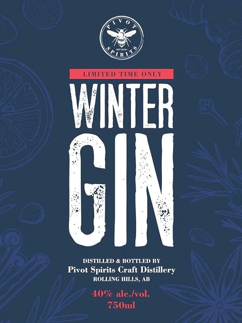 Seasonal Gin - Winter Gin 750 ml