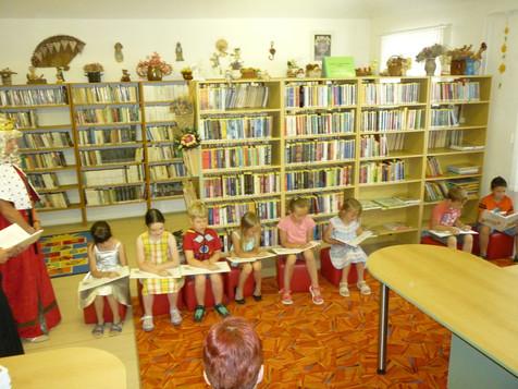 Pasování prvňáků na čtenáře
