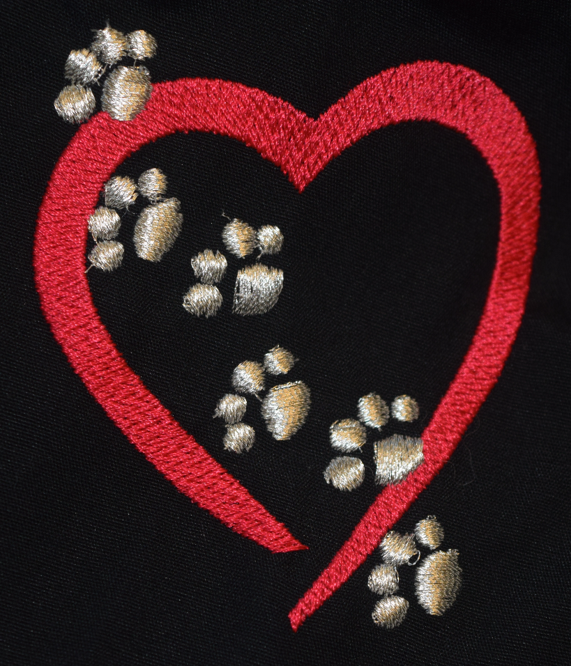 Heart w/Paws