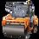 Thumbnail: Каток дорожный двухвальцовый DM-10-VD