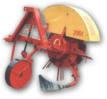Картофелекопатель КТН-1Б