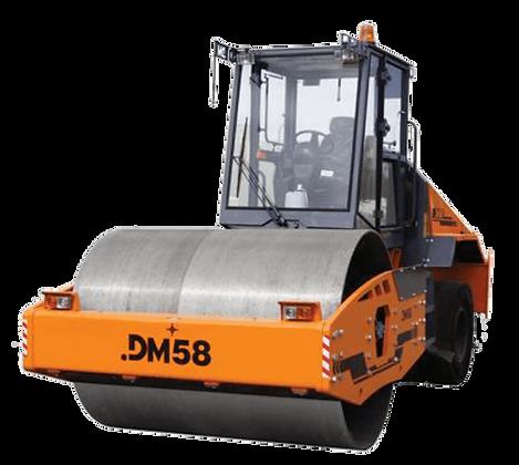 Каток дорожный комбинированный DM58