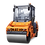 Thumbnail: Каток дорожный двухвальцовый DM-07-VD