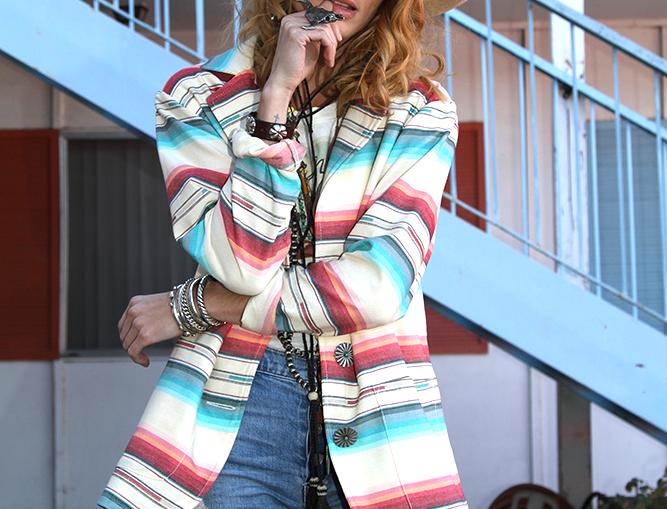 Sylvia Jacket - Navajo White