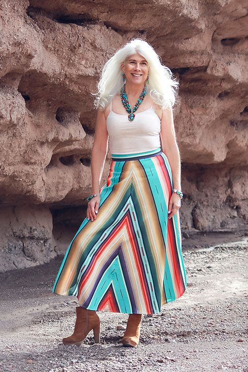 Chelsea Skirt - Colorado Crystal