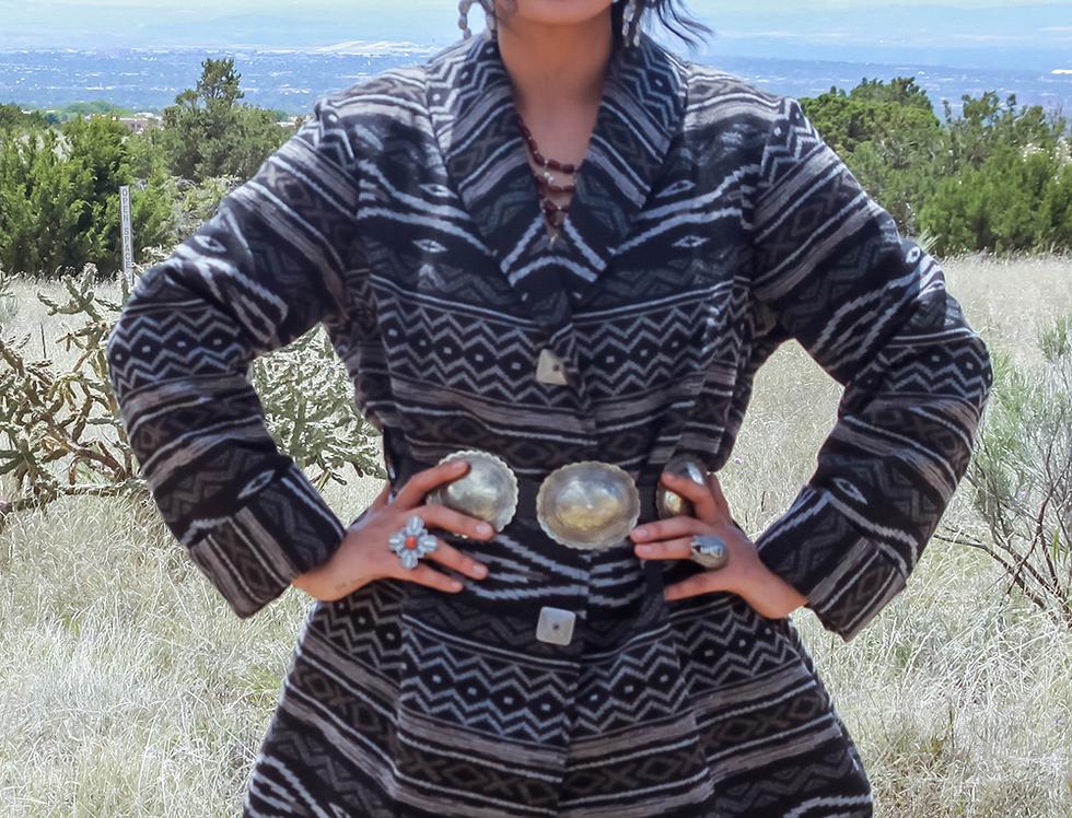 Samantha Coat - Taos Trail