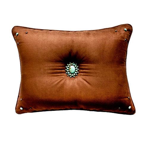 Kensington Teal Accent Pillow